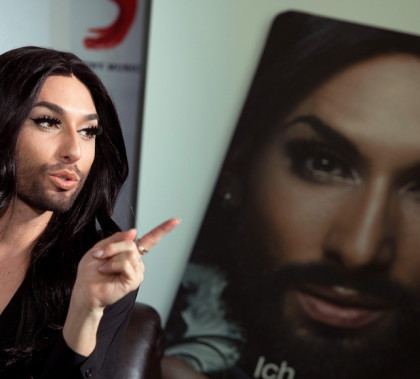Conchita Wurst launches autobiography and new single in Berlin