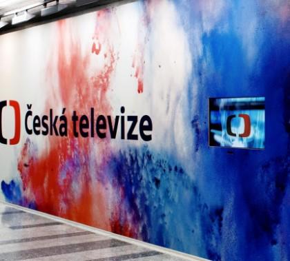 Fotografie nového loga České televize