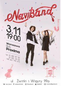 Koncert NaviBand w Warszawie @ Ul. Żwirki i Wigury 99a | Warszawa | mazowieckie | Polska