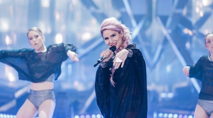 Lea Sirk - zwyciężczyni EMA 2018 (fot. RTV SLO)