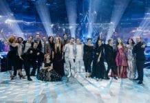 Ośmioro finalistów EMA2018 (fot. RTV SLO)