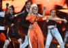 Margaret w trakcie Melodifestivalen 2018 (fot. SVT)