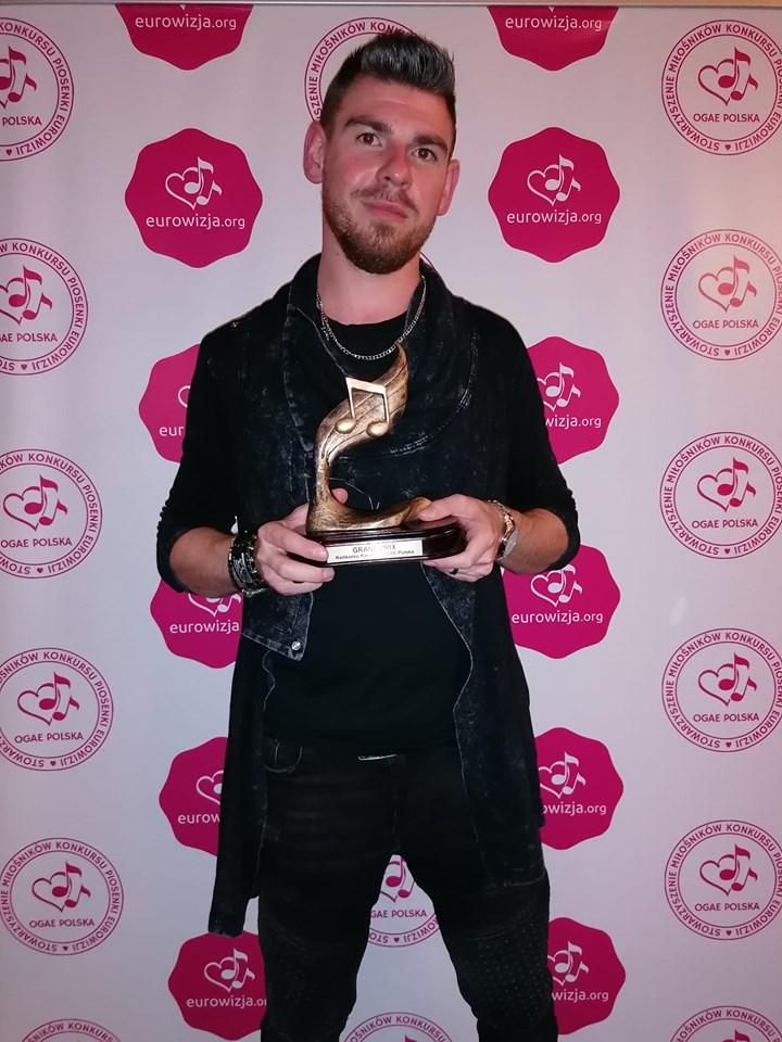 Meles Majdzik - zwycięzca 16. Konkursu Karaoke OGAE Polska