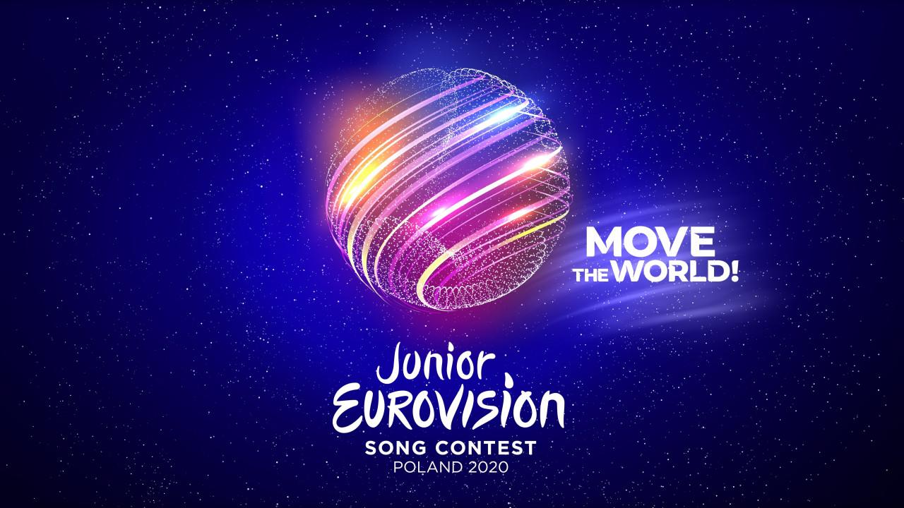 Eurowizja Junior 2020 logo slogan