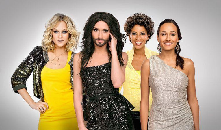 Prowadzące Eurowizję 2015 (fot. Eurovision.tv)
