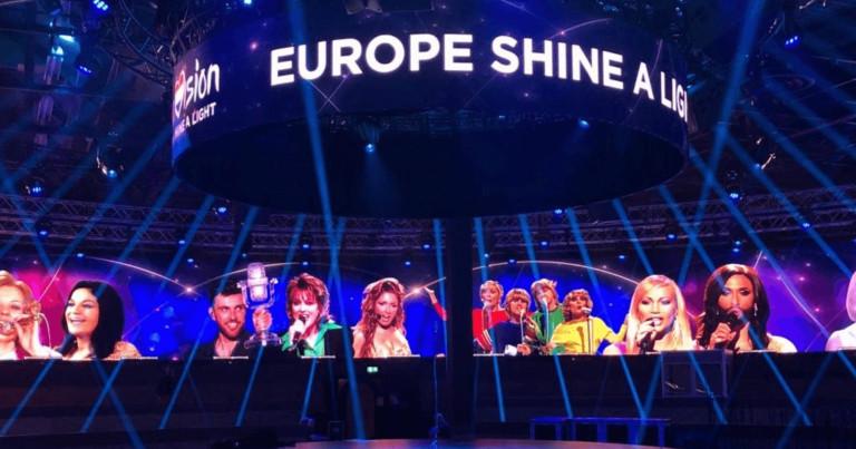 Eurowizja 2020; europe shine a light