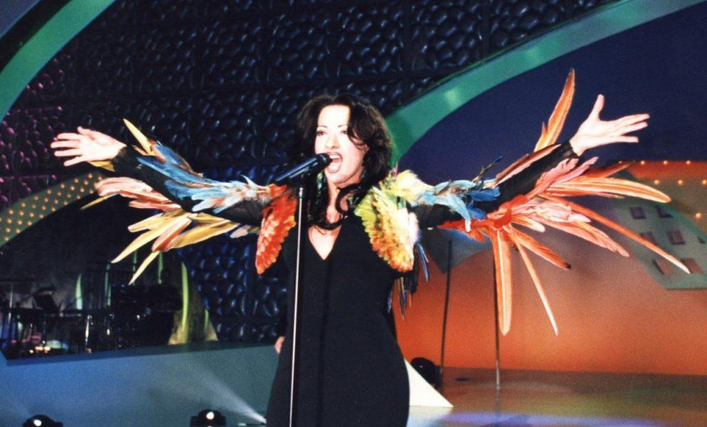 Dana International po wygranej w 1998 roku (fot. Eurovision.tv)