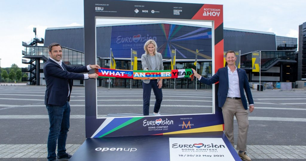 Eurowizja 2021, Rotterdam Ahoy, Sietse Bakker