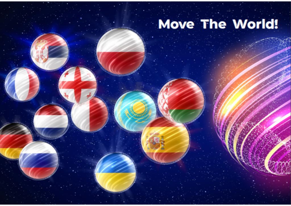 Eurowizja Junior 2020, uczestnicy, flagi