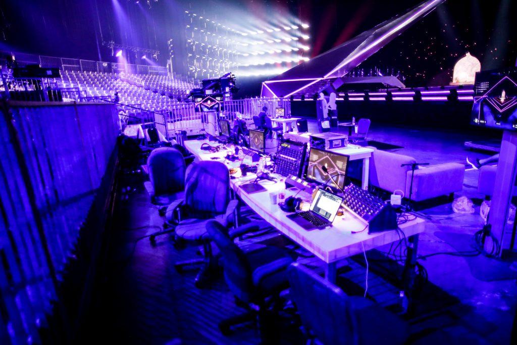 Eurowizja 2021, ekran