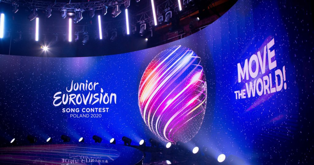 Eurowizja Junior 2020, move the world