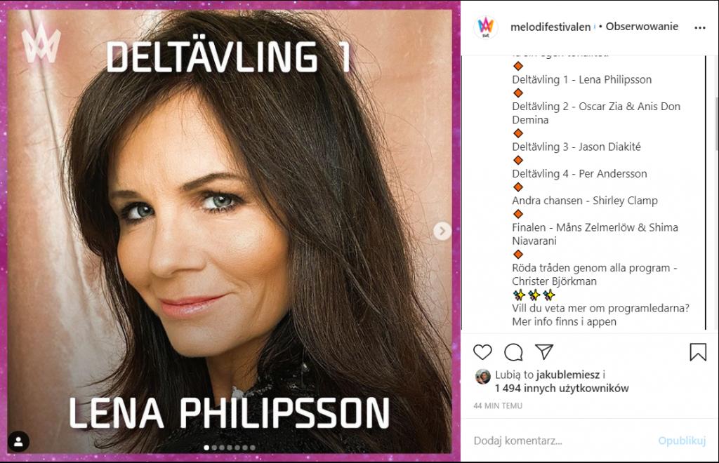 Melodifestivalen 2021, prowadzący