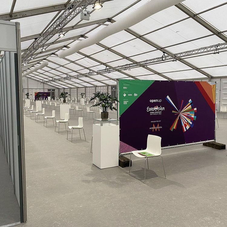 Eurowizja 2021, strefa testowania