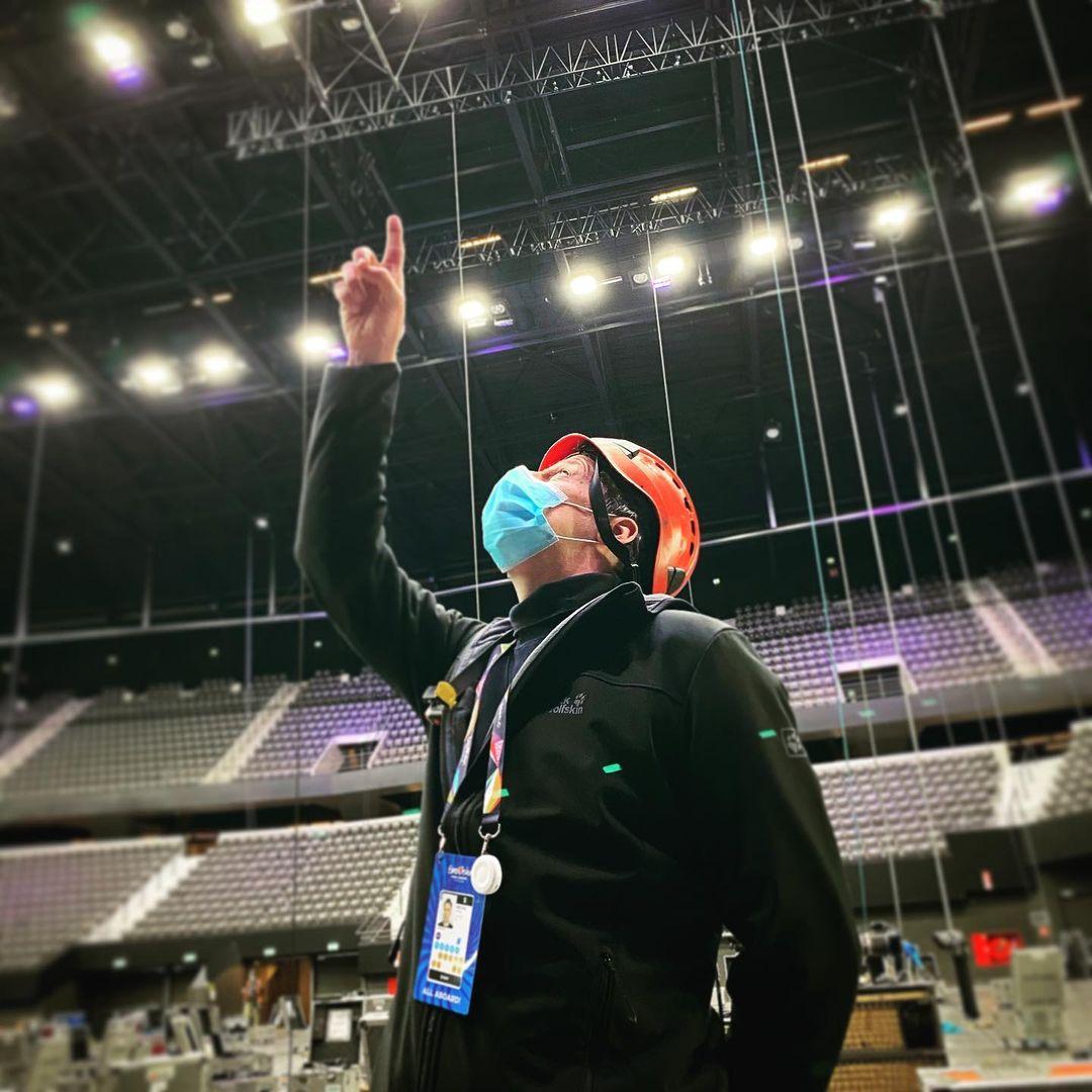 Eurowizja 2021, Rotterdam Ahoy, pracownicy