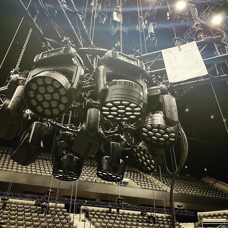 Eurowizja 2021, Rotterdam Ahoy, sprzęt_2