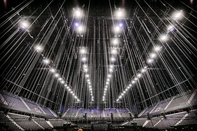 Eurowizja 2021, Rotterdam Ahoy, stelaż