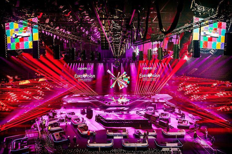 Eurowizja 2021, Rotterdam, scena, oświetlenie