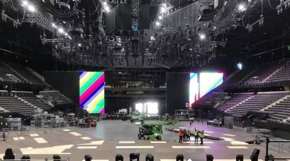 Eurowizja 2021, Rotterdam Ahoy, LED_3