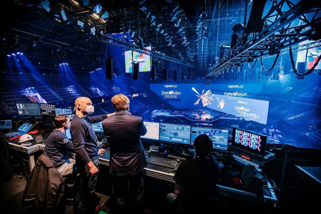Eurowizja 2021, Wilhelm-Aleksander, scena, Rotterdam