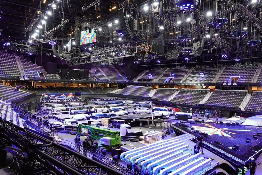 Eurowizja 2021, Rotterdam, scena