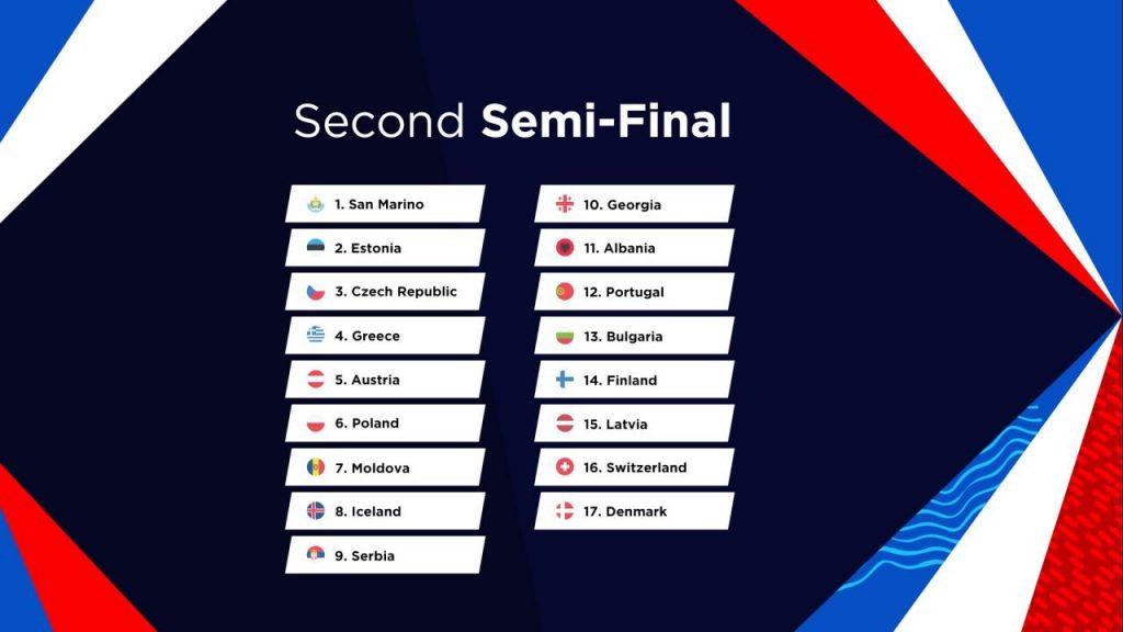 Eurowizja 2021, drugi półfinał