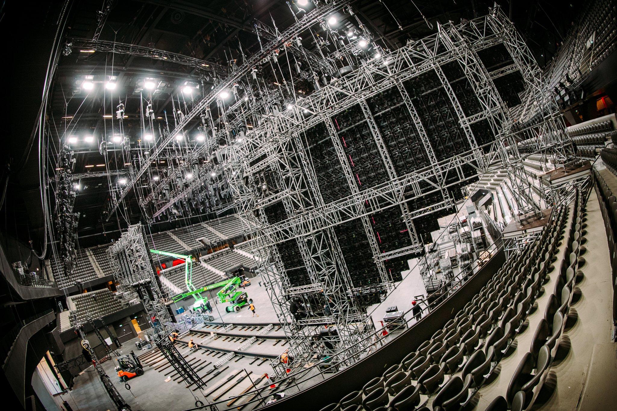 Eurowizja 2021, Rotterdam Ahoy, LED