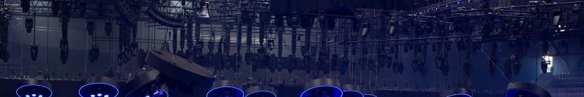 Eurowizja 2021, Rotterdam, scena, oświetlenie, kamery, ekran LED, budowa