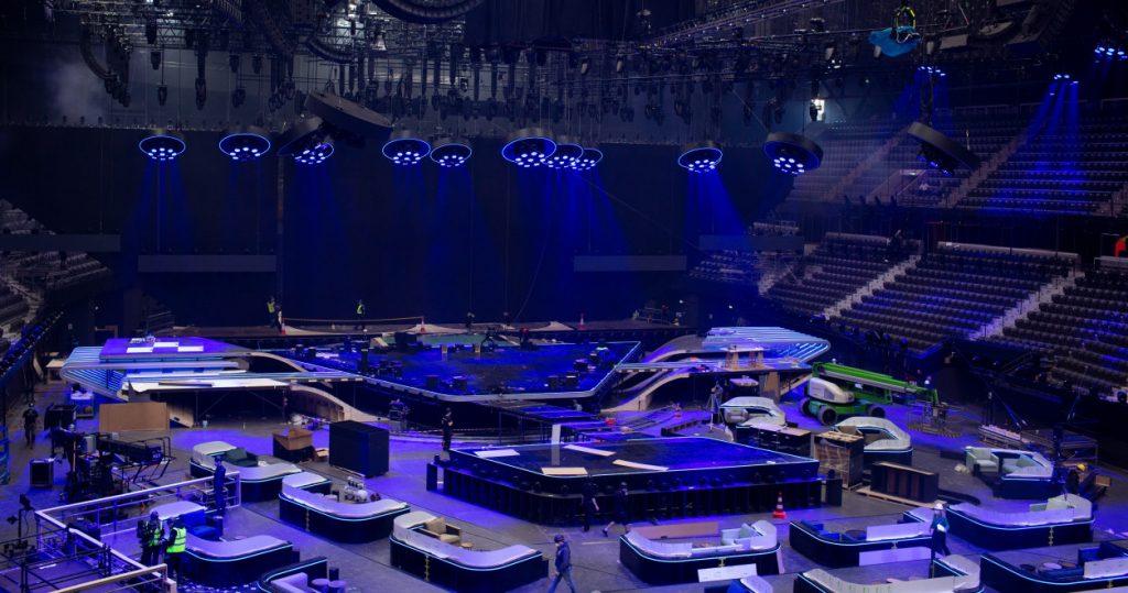 Eurowizja 2021, oświetlenie
