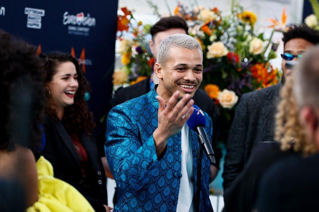 Eurowizja 2021, Benny Cristo, Czechy, turkusowy dywan