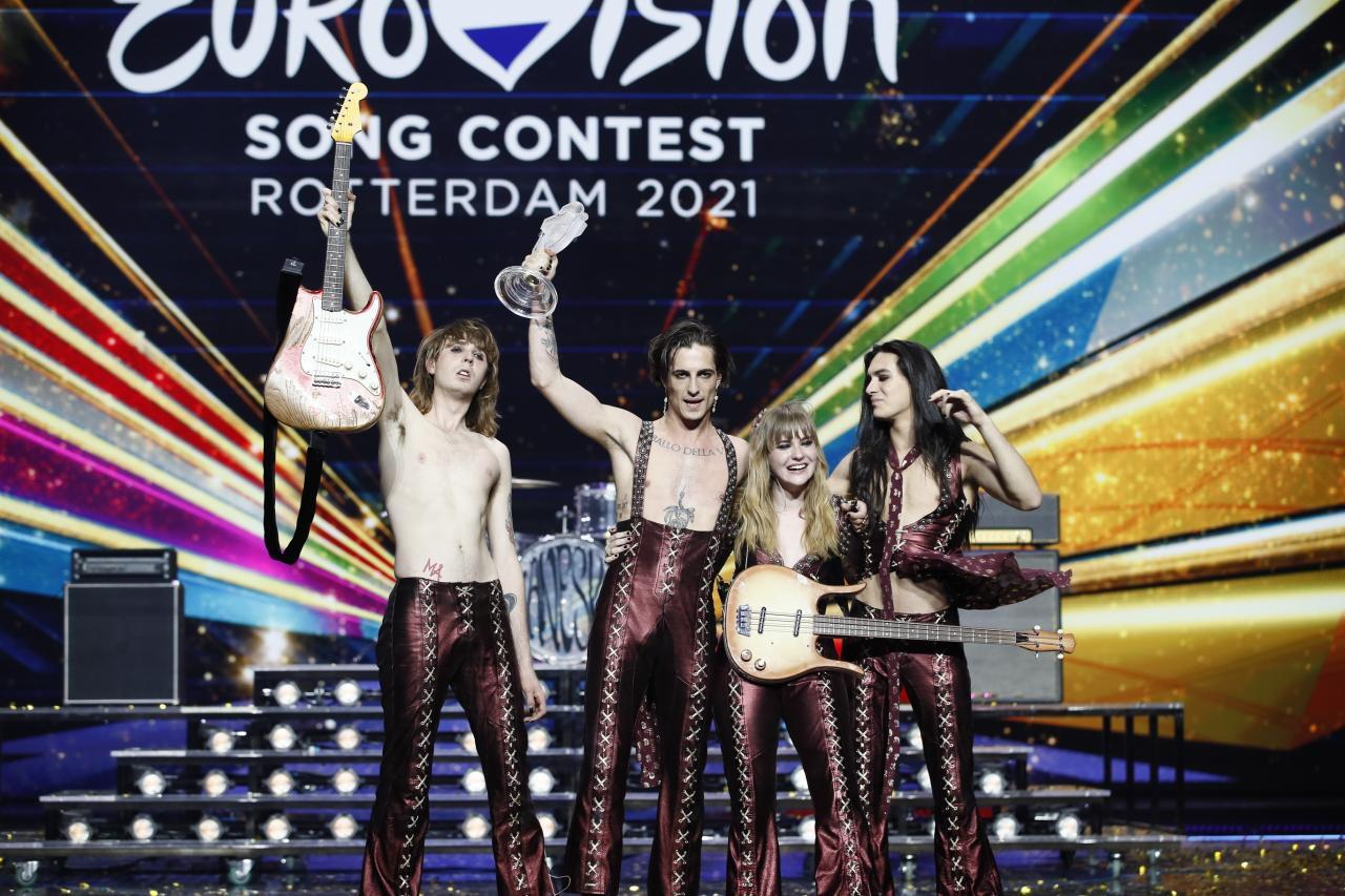 Eurowizja 2021, Włochy, zwycięzca Eurowizji, Måneskin, Maneskin