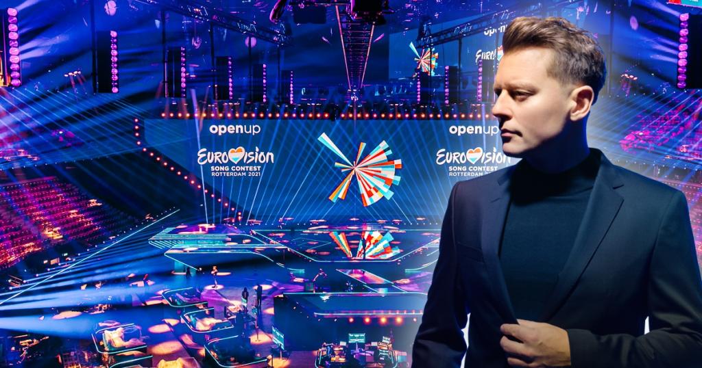 Eurowizja 2021: Rafał Brzozowski na scenie podczas prób. Jak wypadł?
