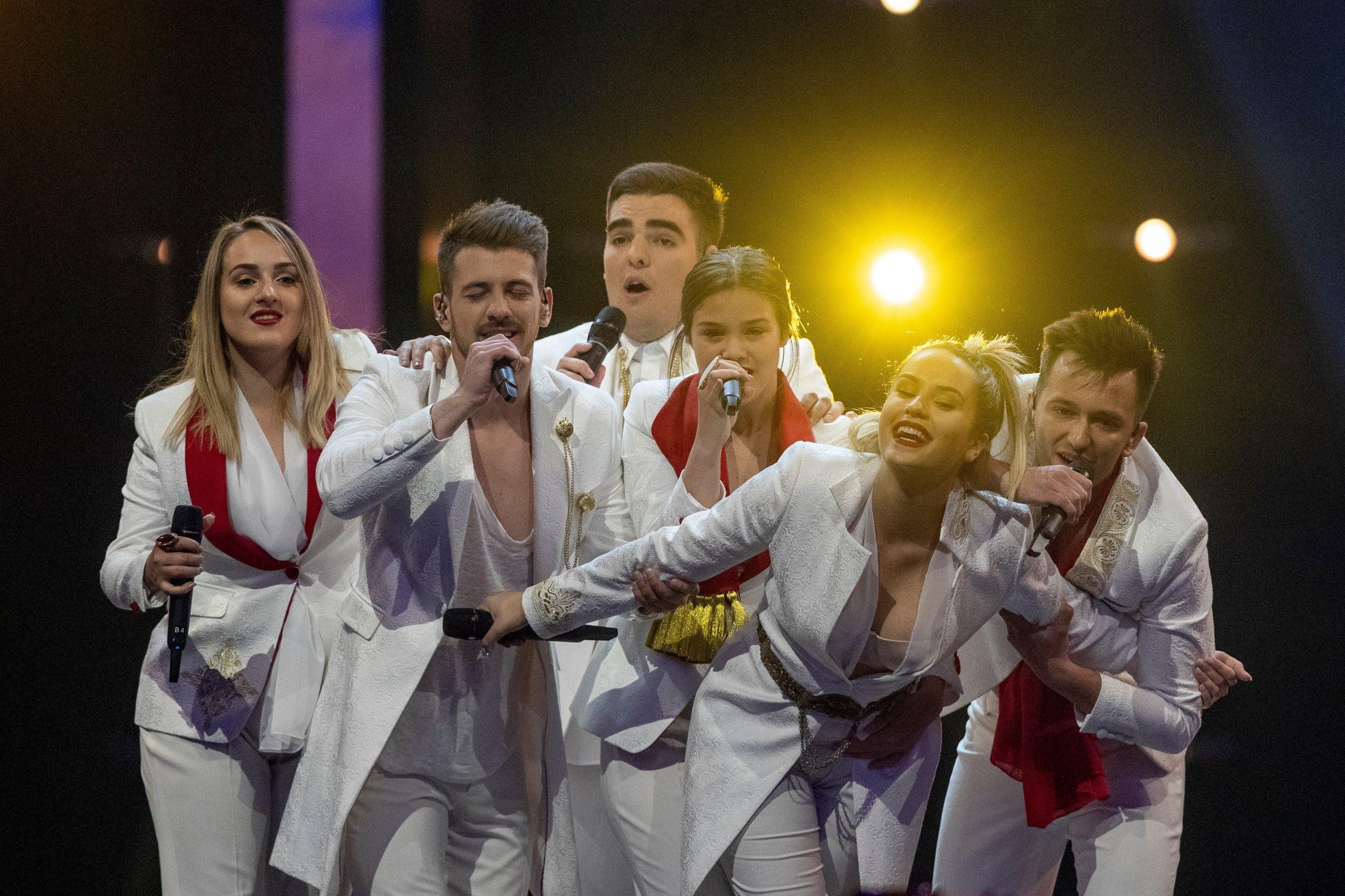 D-Moll, Czarnogóra, Eurowizja 2019