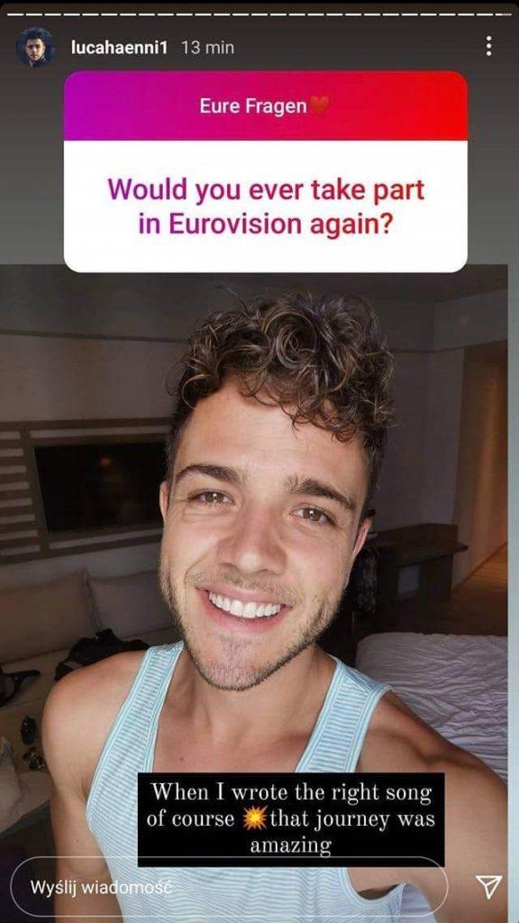 Eurowizja 2019, Luca Hänni, Szwajcaria