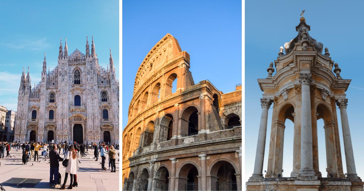 Mediolan, Rzym, Turyn, Eurowizja 2022