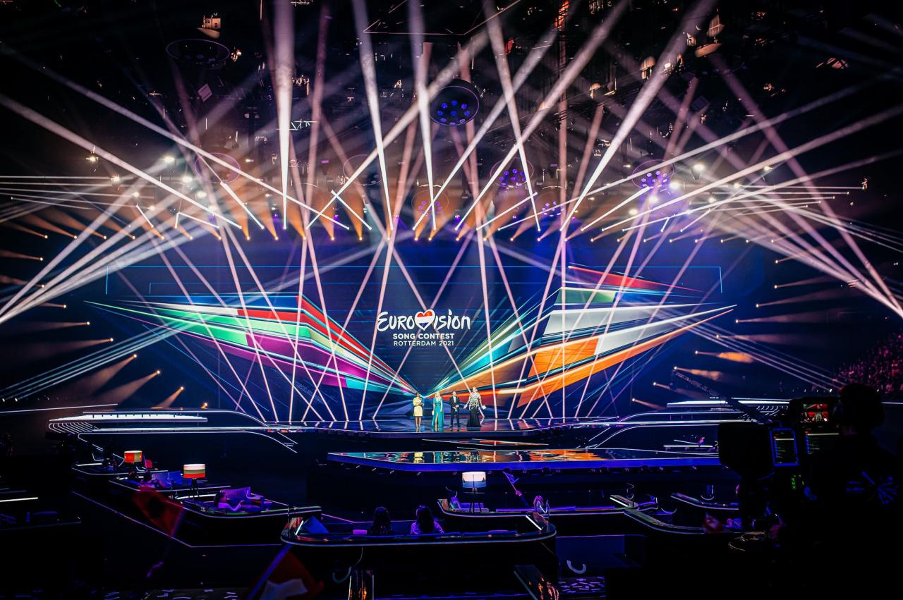 Eurowizja, Rotterdam, scena