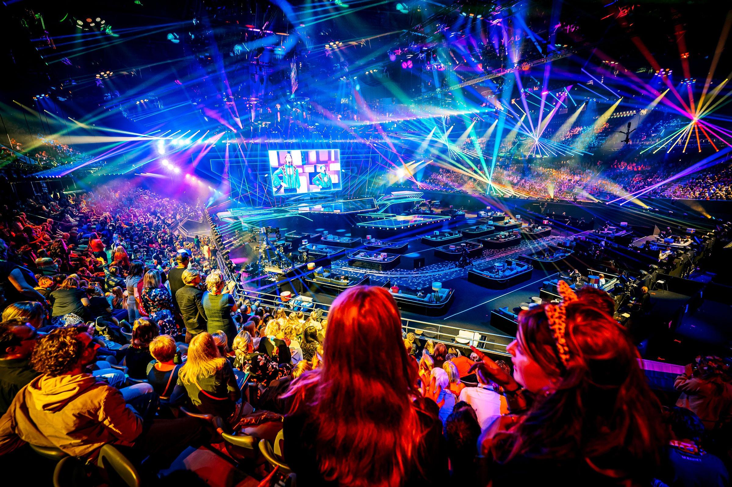 Eurowizja, Rotterdam Ahoy