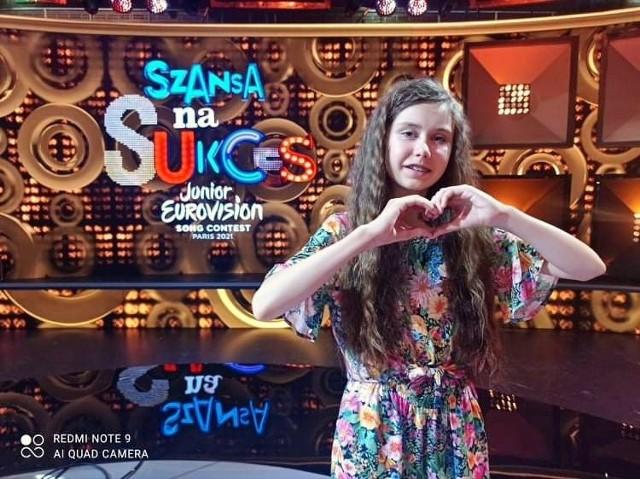 Szansa na Sukces. Eurowizja Junior 2021: Marysia Stachera pierwszą finalistką. (fot. Echo Dnia Świętokrzyskie)