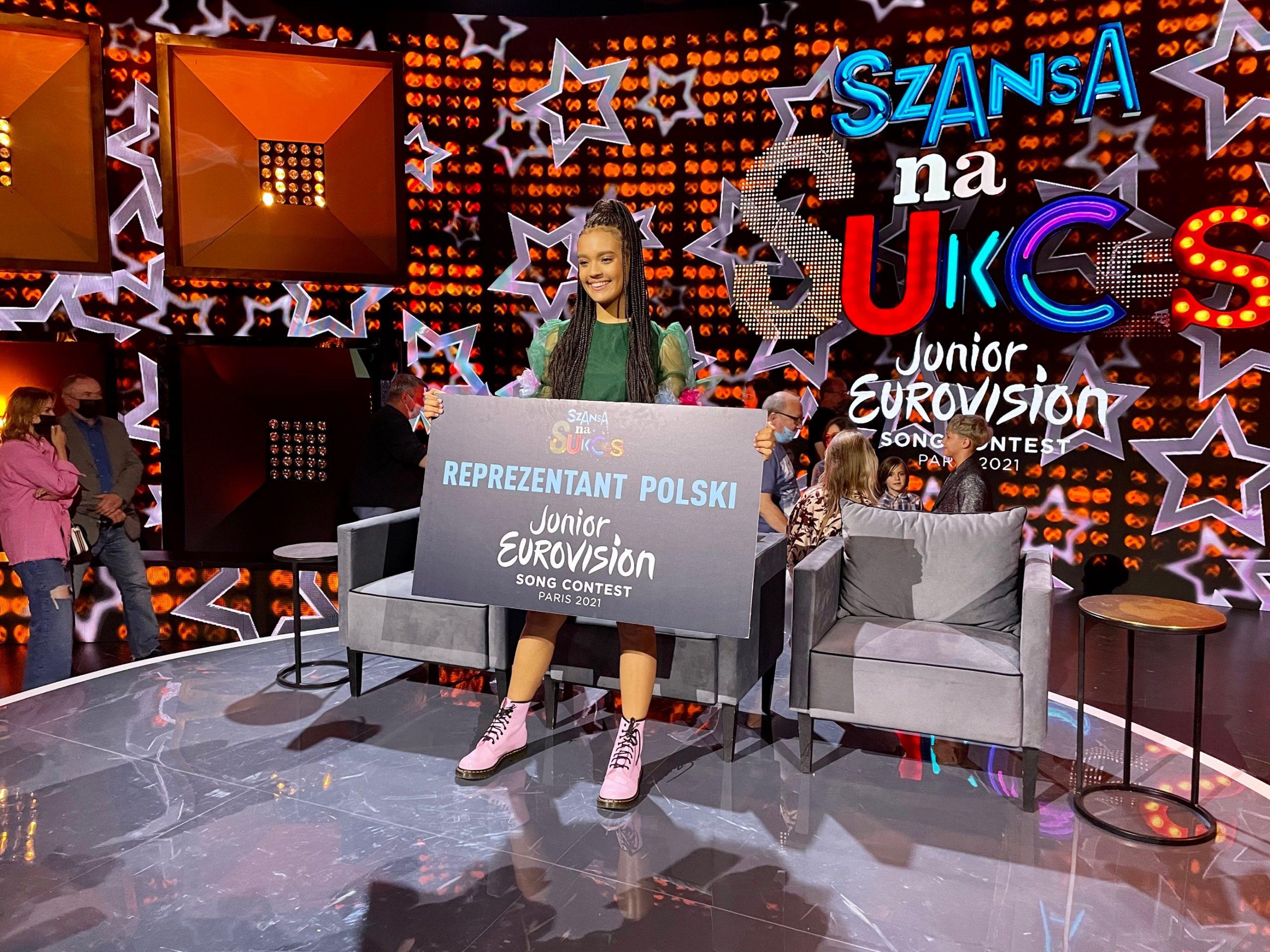 Sara James, Eurowizja Junior 2021, Szansa na Sukces