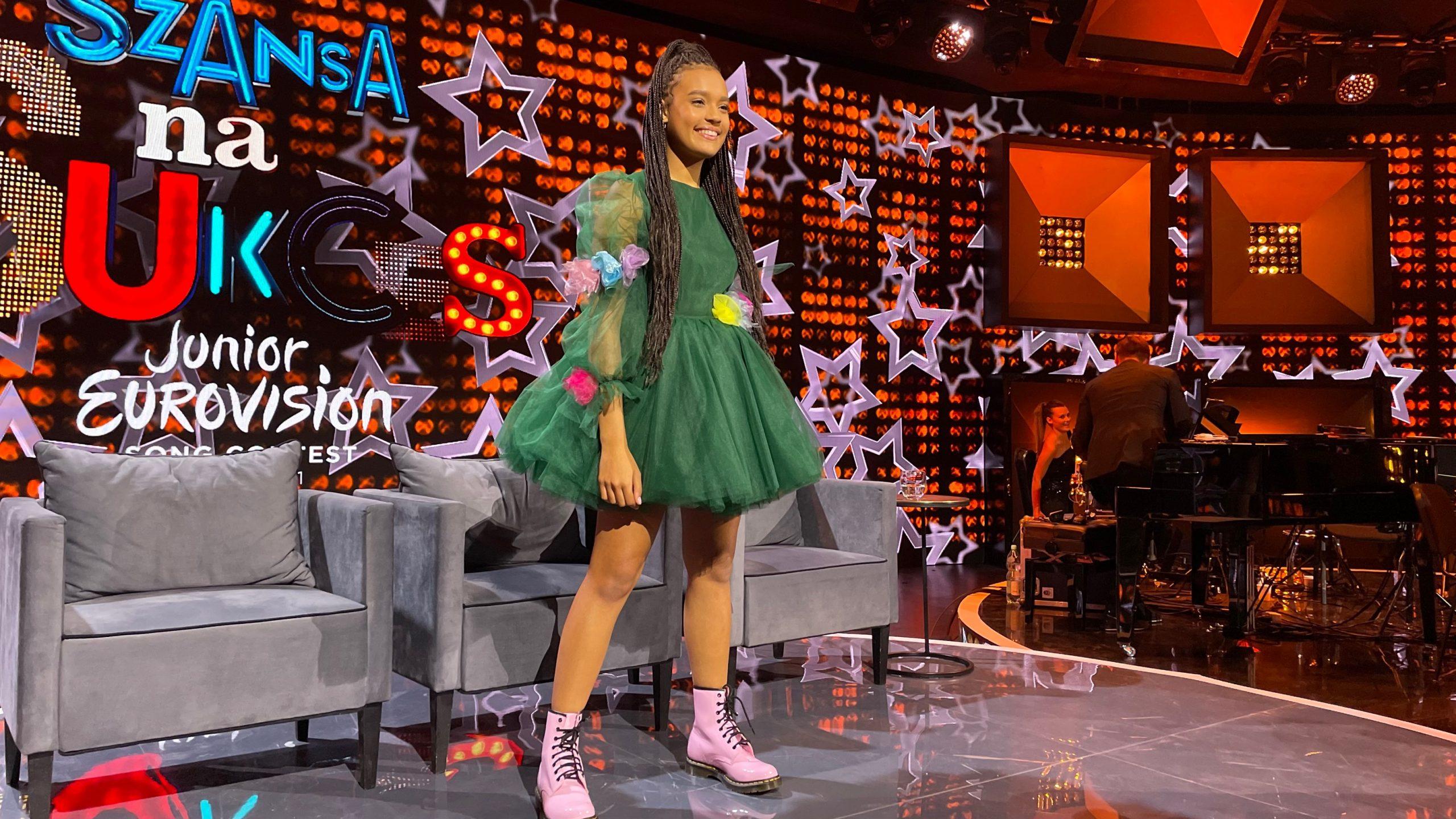 Sara James, Somebody, Eurowizja Junior