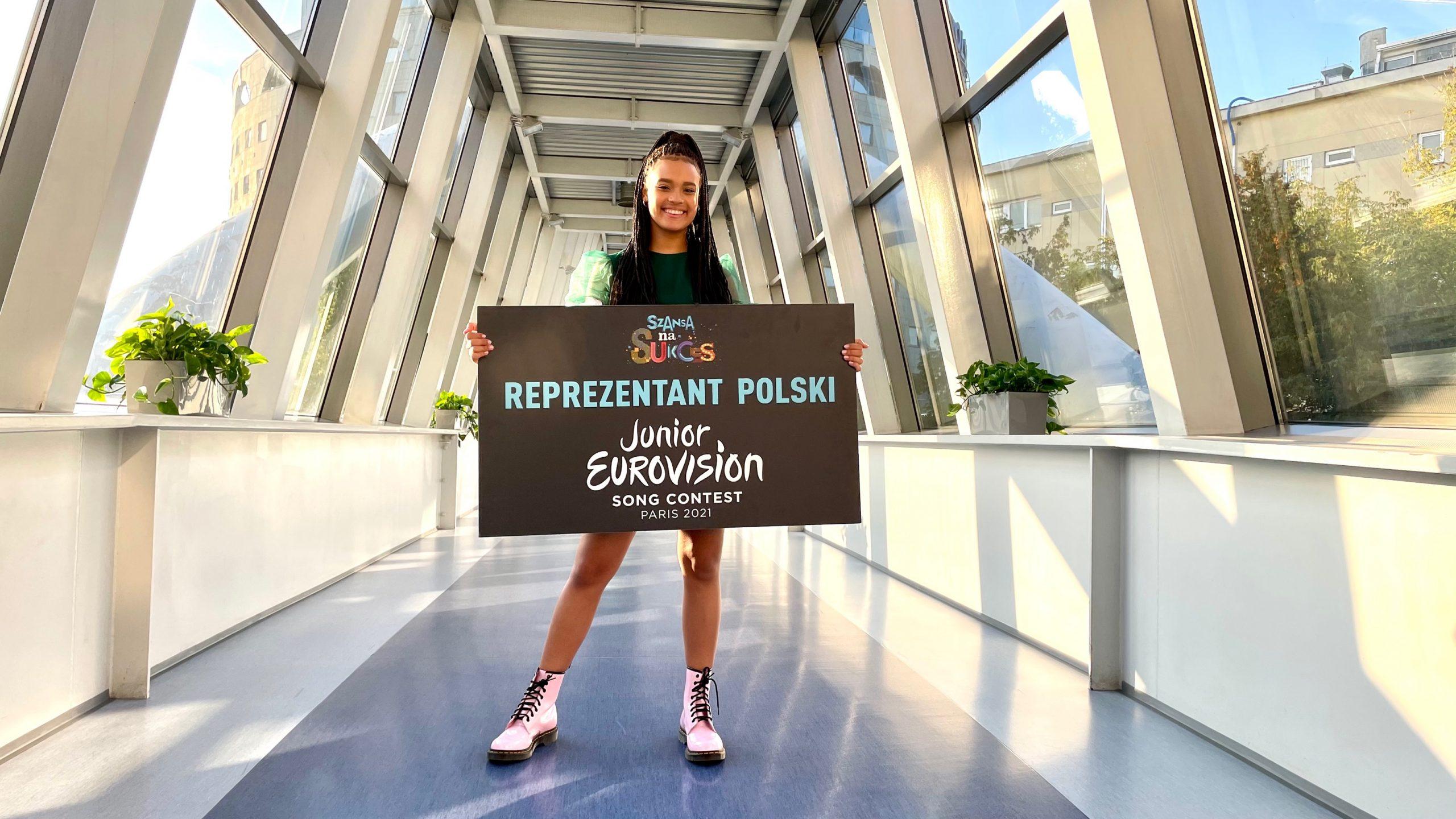 Eurowizja Junior 2021, Szansa na Sukces, Sara James, TVP