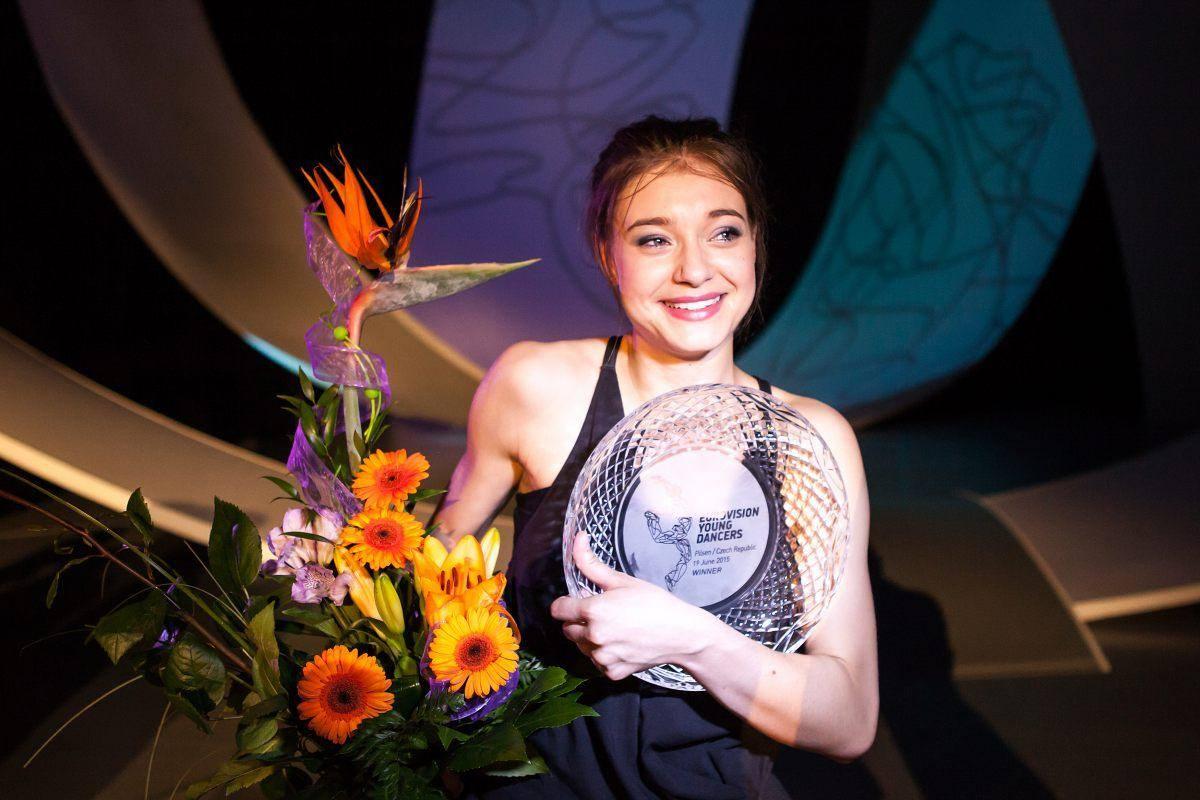 Wiktoria Nowak, Eurowizja dla Młodych Tancerzy 2015